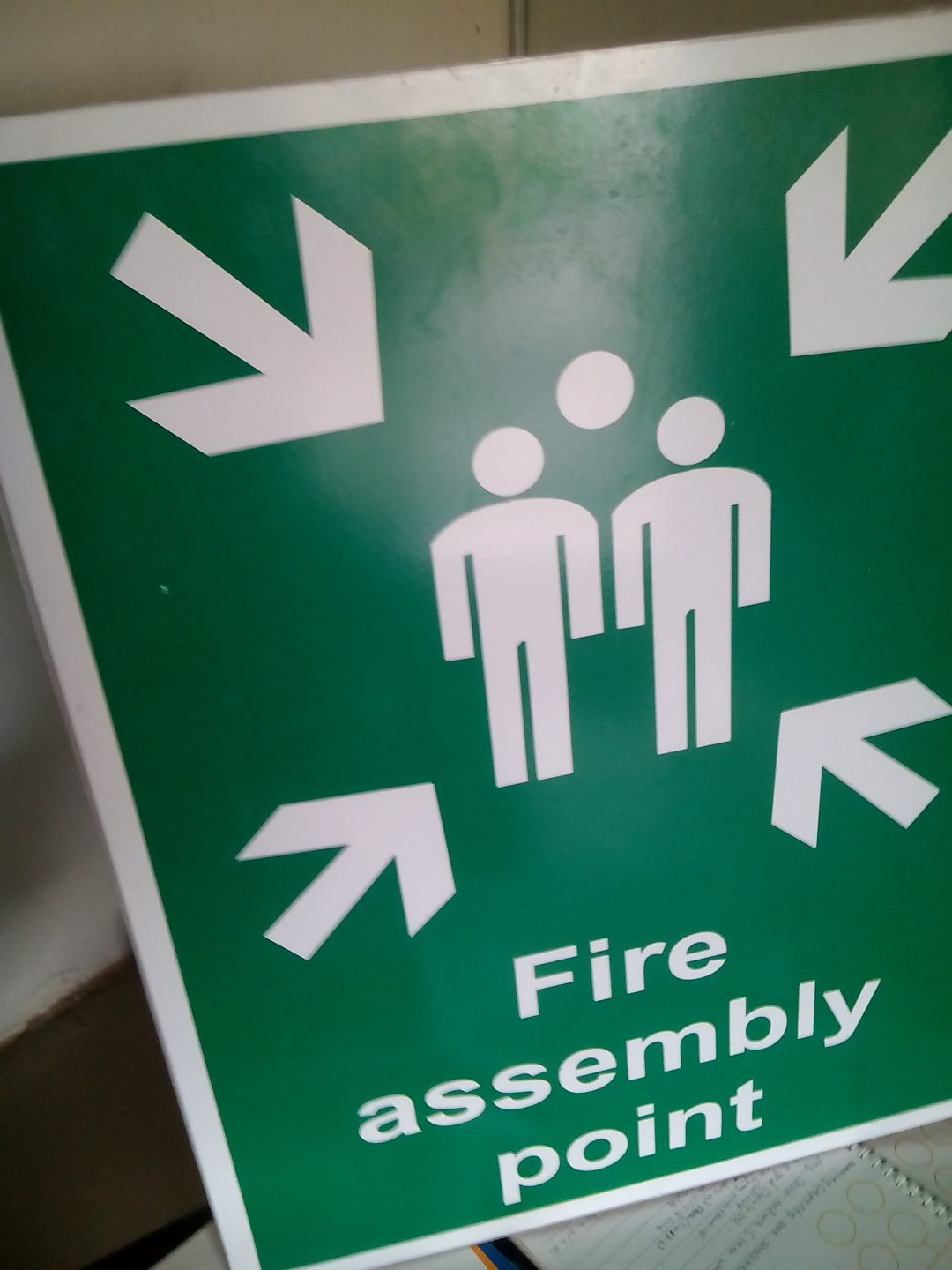 Fire Assembly Sign